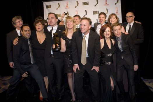 Cast of 'This Hour Has 22 Minutes' at 2008 Gemini Awards Gala at Metro Toronto Convention Centre, Toronto, Canada
