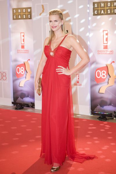 Natasha Henstridge at 2008 Gemini Awards Gala at Metro Toronto Convention Centre, Toronto, Canada