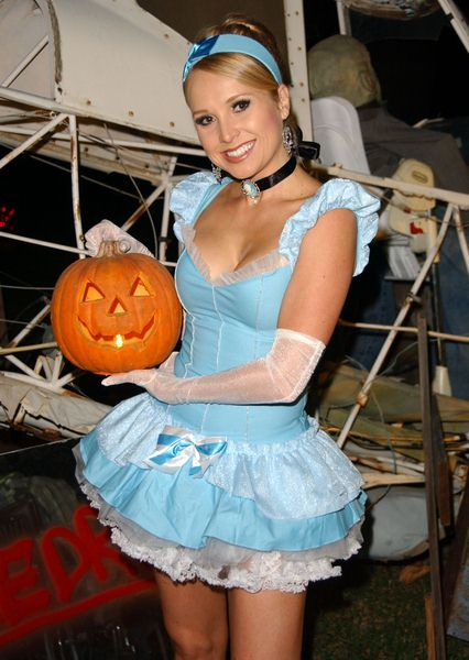 Alana Curry at 2008 Halloween Celebration at Private Location in Studio City, CA. USA