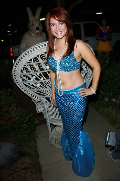 Kim Mulligan at 2008 Halloween Celebration at Private Location in Studio City, CA. USA