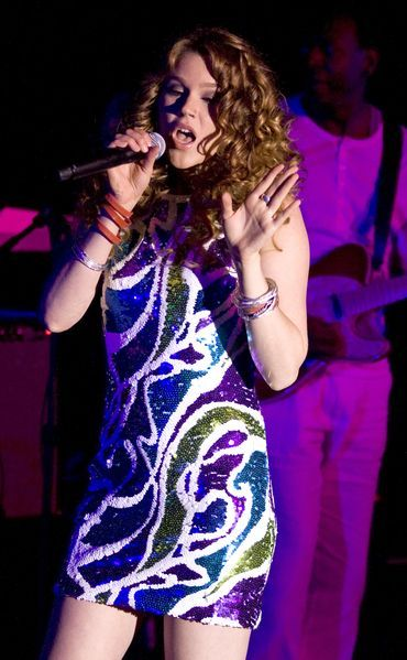 Joss Stone at 2008 'Imagine There's No Hunger' Campaign Launch - Arrivals and Concert at Hard Rock Cafe NY, New York City, NY, USA