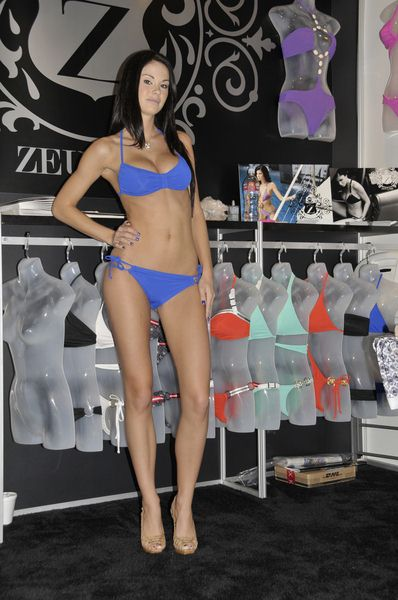 Jayde Nicole at 2008 MAGIC Fashion and Apparel Tradeshow in Las Vegas Hilton, Las Vegas, NV, USA