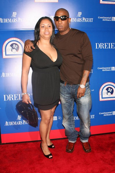 Ja Rule, wife at 2008 Michael Strahan and Dreier LLP Charity Golf Tournament Pairing Party - Arrivals at Tao 42 East 58th Street, New York City, NY, USA
