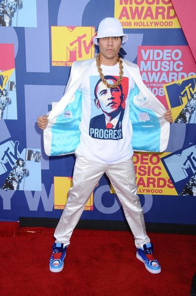 Taboo at 2008 MTV Video Music Awards - Arrivals at Paramount Pictures Studios, Los Angeles, CA USA