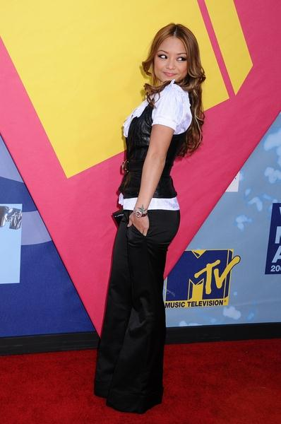 Tila Tequila at 2008 MTV Video Music Awards - Arrivals at Paramount Pictures Studios, Los Angeles, CA USA