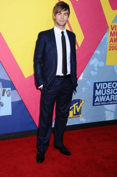 Chace Crawford at 2008 MTV Video Music Awards - Arrivals at Paramount Pictures Studios, Los Angeles, CA USA