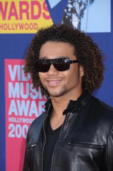 Corbin Bleu at 2008 MTV Video Music Awards - Arrivals at Paramount Pictures Studios, Los Angeles, CA USA