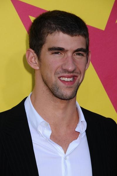 Michael Phelps at 2008 MTV Video Music Awards - Arrivals at Paramount Pictures Studios, Los Angeles, CA USA
