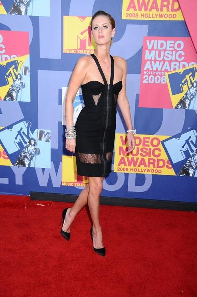 Nicky Hilton at 2008 MTV Video Music Awards - Arrivals at Paramount Pictures Studios, Los Angeles, CA USA