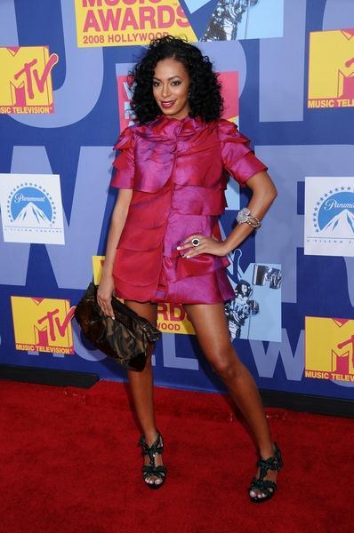 Solange Knowles at 2008 MTV Video Music Awards - Arrivals at Paramount Pictures Studios, Los Angeles, CA USA