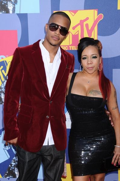 Rapper T.I., Tiny at 2008 MTV Video Music Awards - Arrivals at Paramount Pictures Studios, Los Angeles, CA USA