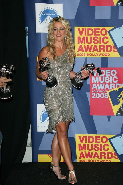 Britney Spears at 2008 MTV Video Music Awards - Press Room at Paramount Pictures Studios, Los Angeles, CA USA