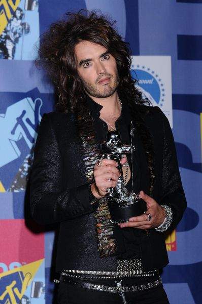 Russell Brand at 2008 MTV Video Music Awards - Press Room at Paramount Pictures Studios, Los Angeles, CA USA