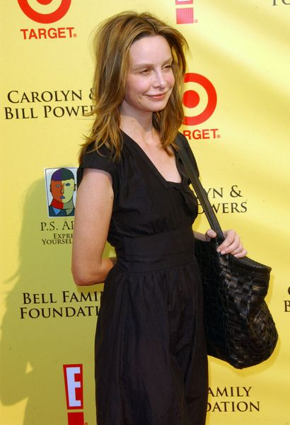 Calista Flockhart at 2008 P.S. ARTS' Express Yourself Event Sponsored by Target at Barker Hanger, Santa Monica, CA. USA