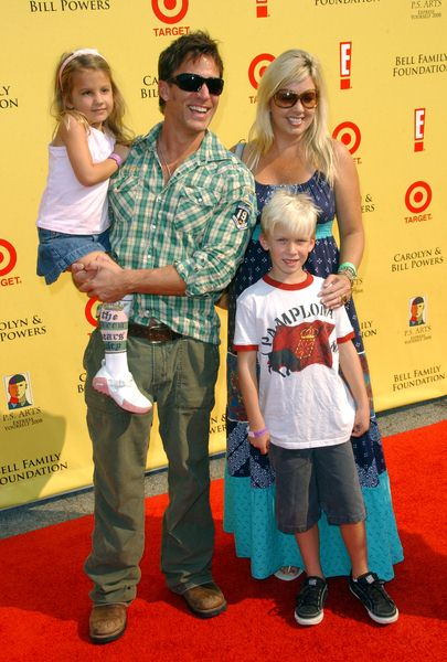 Dan Cortese with family at 2008 P.S. ARTS' Express Yourself Event Sponsored by Target at Barker Hanger, Santa Monica, CA. USA