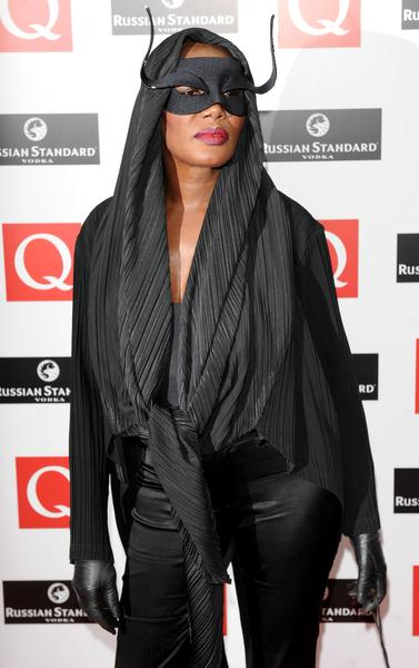 Grace Jones at 2008 Q Magazine Music Awards - Arrivals - Grosvenor, London, UK