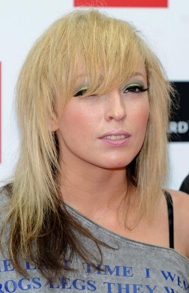 Katie White (The Ting Tings) at 2008 Q Magazine Music Awards - Arrivals - Grosvenor, London, UK