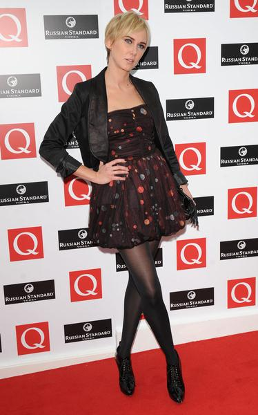 Kimberley Stewart at 2008 Q Magazine Music Awards - Arrivals - Grosvenor, London, UK