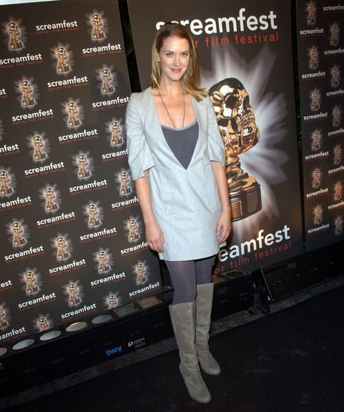 Lauren Lee Smith at 2008 Screamfest Horror Film Festival Opening Night Party at Hollywood Roosevelt Hotel, Hollywood, CA. USA