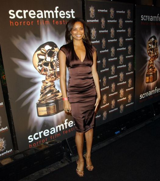Rochelle Aytes at 2008 Screamfest Horror Film Festival Opening Night Party at Hollywood Roosevelt Hotel, Hollywood, CA. USA