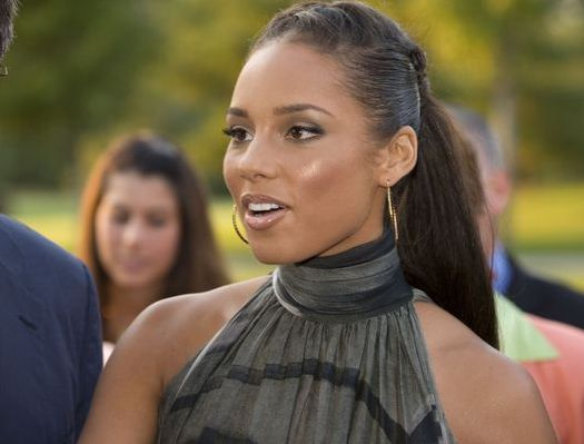 Alicia Keys at 2008 Toronto International Film Festival - 'Golf Rocks' at Magna Golf Club, Toronto, Canada