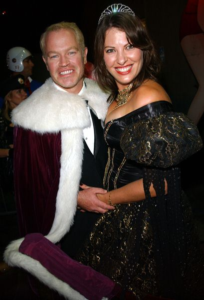 Neal McDonough, Ruve (wife) at 2008 Trashy Lingerie Halloween Party at Kress, Hollywood, CA. USA
