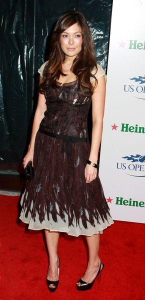 Lindsay Price at 2008 US Open USTA Heineken Premium Light Official Players Party - Arrivals at Empire Hotel, New York City, NY, USA