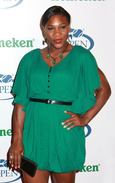 Serena Williams at 2008 US Open USTA Heineken Premium Light Official Players Party - Arrivals at Empire Hotel, New York City, NY, USA