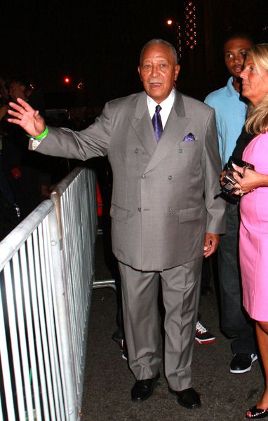 David Dinkins at 2008 US Open USTA Heineken Premium Light Official Players Party - Arrivals at Empire Hotel, New York City, NY, USA