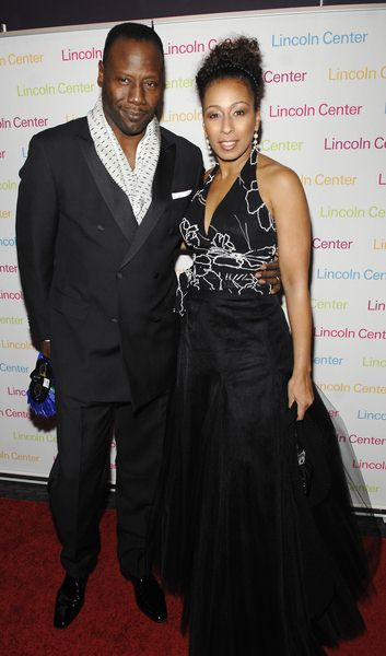 Greg Generet, Tamara Tunie at 2008 Young Patrons of Lincoln Center Fall Masquerade Gala at Rose Hall, New York City, NY, USA