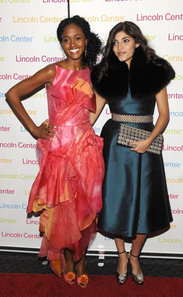 Nicole Fiscella, Amanda Setton at 2008 Young Patrons of Lincoln Center Fall Masquerade Gala at Rose Hall, New York City, NY, USA