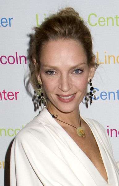Uma Thurman at 2008 Young Patrons of Lincoln Center Fall Masquerade Gala at Rose Hall, New York City, NY, USA