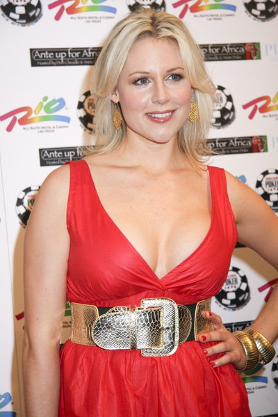 Abi Titmuss at 2nd Annual 'Ante Up For Africa' Celebrity Poker Tournament at the 2008 World Series of Poker - Rio Hotel and Casino, Las Vegas, NV, USA
