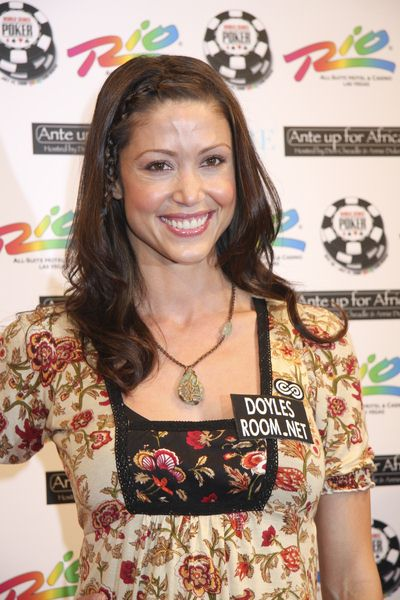 Shannon Elizabeth at 2nd Annual 'Ante Up For Africa' Celebrity Poker Tournament at the 2008 World Series of Poker - Rio Hotel and Casino, Las Vegas, NV, USA