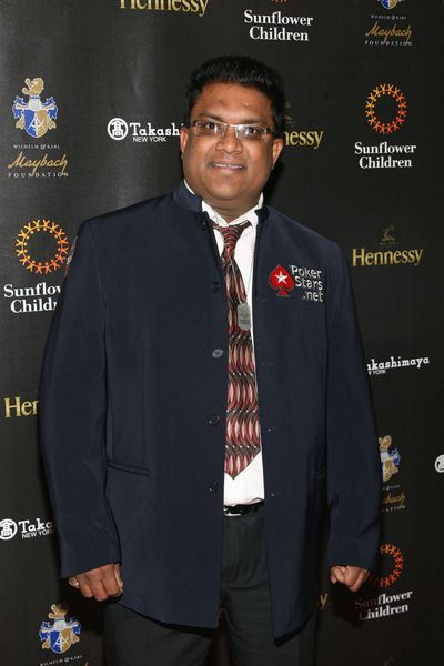 Victor Ramdin at 2nd Annual Sunflower Children Texas Hold'em Celebrity Charity Benefit at Gotham Hall, 1356 Broadway, New York City, NY, USA