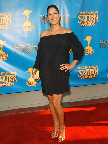 Alicia Coppola at 34th Annual Saturn Awards at The Universal Hilton Hotel, Universal City, CA. USA