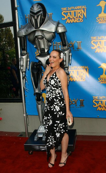 Heather Harris at 34th Annual Saturn Awards at The Universal Hilton Hotel, Universal City, CA. USA