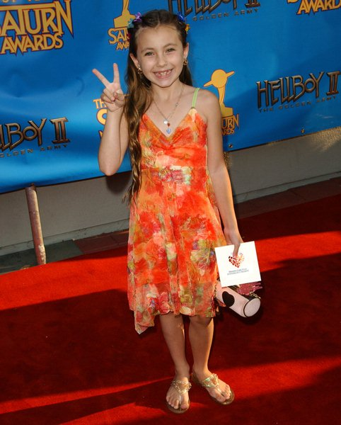 Rhiannon Leigh Wryn at 34th Annual Saturn Awards at The Universal Hilton Hotel, Universal City, CA. USA