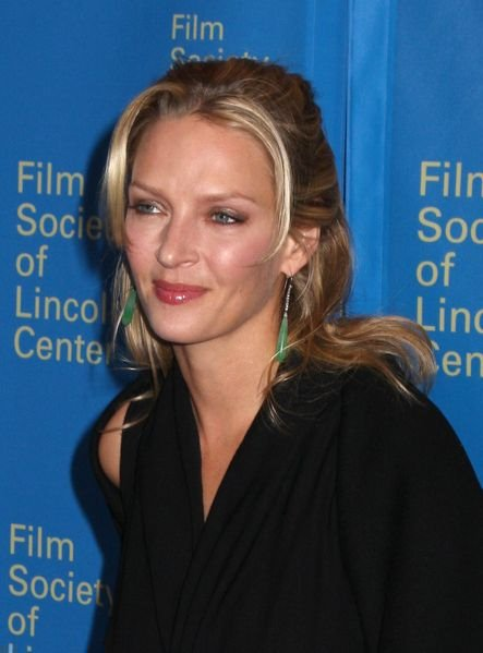 Uma Thurman at 35th Annual Film Society of Lincoln Center Gala Tribute to Meryl Streep - Green Room - Avery Fisher Hall. New York City, NY, USA