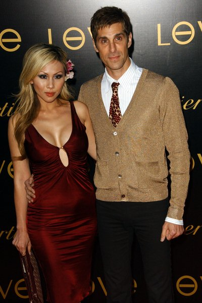Etty Lau Farrell, Perry Farrell at 3rd Annual LOVEDAY Launch Love Charity Bracelet - Arrivals - Private Estate, Bel-Air, CA. USA