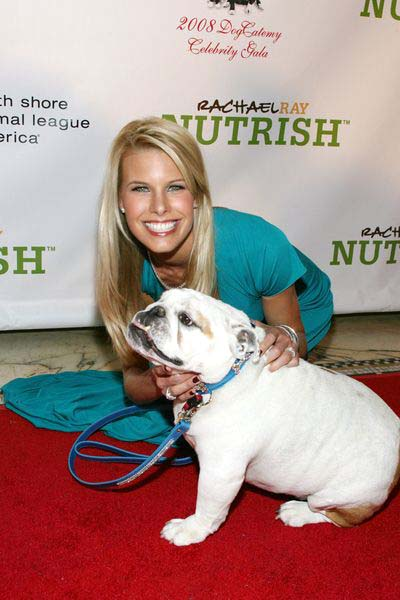 Beth Ostrosky, Bianca at 3rd Annual North Shore Animal League America's DogCatemy Celebrity Gala at Capitale, 130 Bowery in New York City, NY, USA