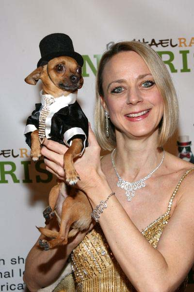 Karen Biehl and Eli at 3rd Annual North Shore Animal League America's DogCatemy Celebrity Gala at Capitale, 130 Bowery in New York City, NY, USA