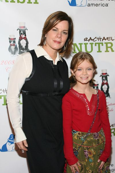 Marcia Gay Harden, Yulivia (daughter) at 3rd Annual North Shore Animal League America's DogCatemy Celebrity Gala at Capitale, 130 Bowery in New York City, NY, USA