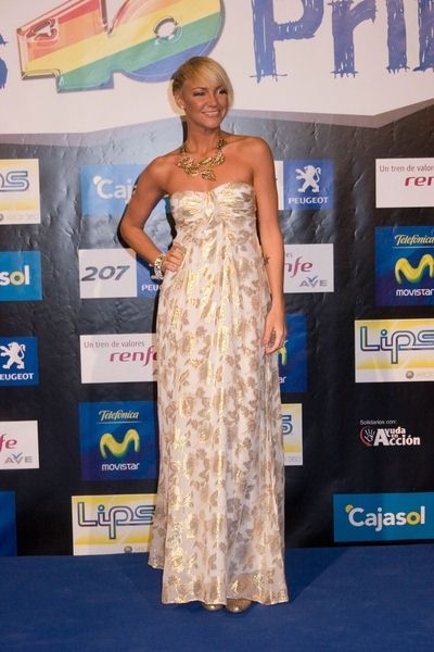 Kate Ryan at 40 Principales Awards 2008 - Arrivals and Show - The Sports Palace, Madrid, Spain