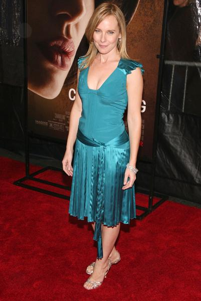 Amy Ryan at 46th New York Film Festival - 'Changeling' Premiere at Ziegfeld Theater at 141 West 54th Street, New York City, NY, USA