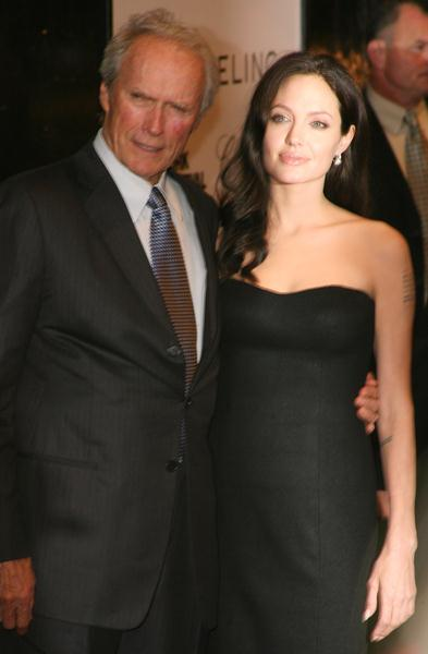 Clint Eastwood, Angelina Jolie at 46th New York Film Festival - 'Changeling' Premiere at Ziegfeld Theater at 141 West 54th Street, New York City, NY, USA