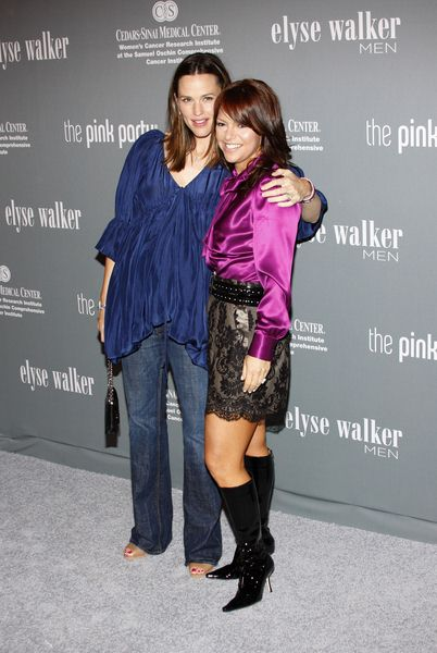 Jennifer Garner, Elyse Walker at The 4th Annual Pink Party - Arrivals at Hanger 8, Santa Monica, CA, USA