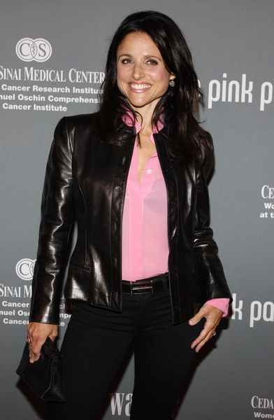 Julia Louis Dreyfus at The 4th Annual Pink Party - Arrivals at Hanger 8, Santa Monica, CA, USA