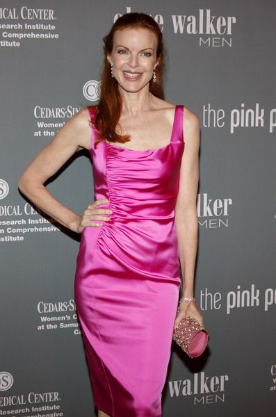Marcia Cross at The 4th Annual Pink Party - Arrivals at Hanger 8, Santa Monica, CA, USA