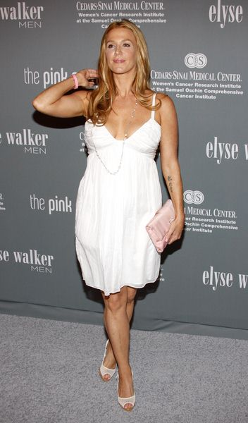 Poppy Montgomery at The 4th Annual Pink Party - Arrivals at Hanger 8, Santa Monica, CA, USA